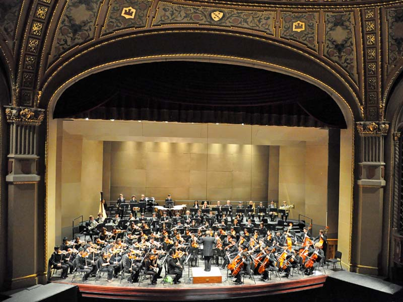 San Jose Youth Symphony at the California Theater