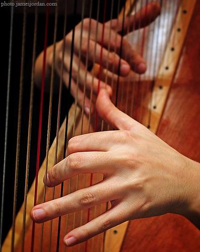 Harp hands 2009 by James Jordan
